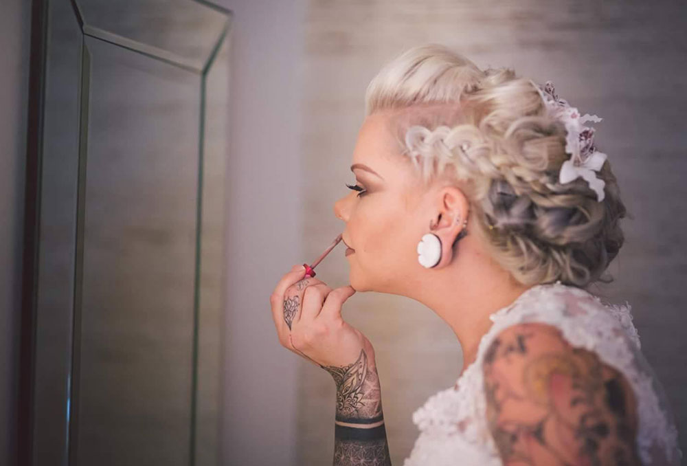 Hair and Beauty for Southampton Bride