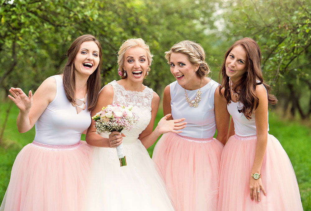 Hair and Beauty for Bridesmaids